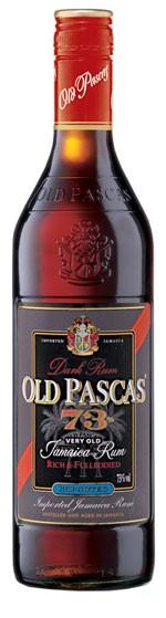 Old Pascas Jamaica 73% Flasche 1,0 ltr.