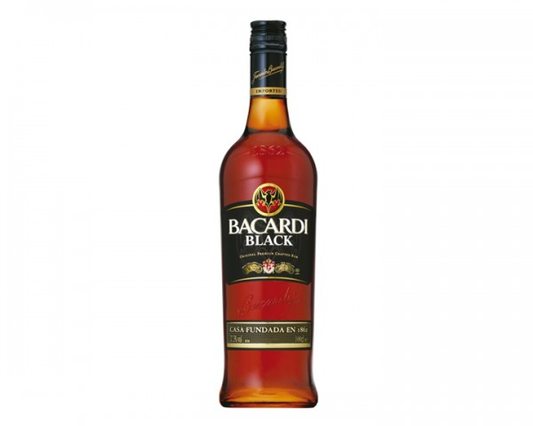 Bacardi Black Flasche 1,0 ltr.