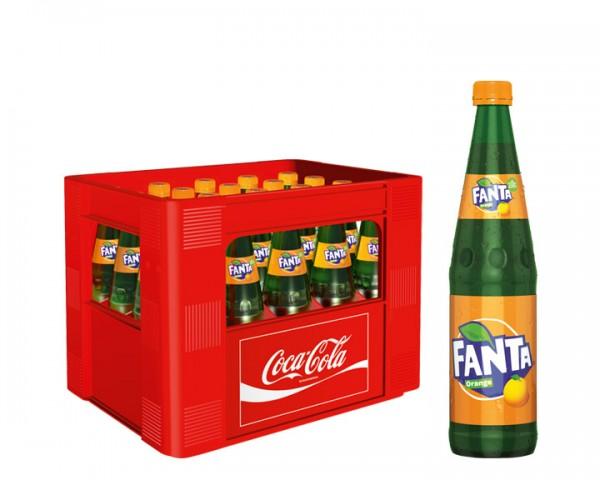 Fanta Orange Kiste 20x0,5 ltr.