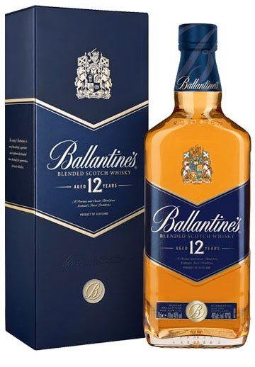 Ballantine´s 12 Years Old Flasche 0,7 ltr.