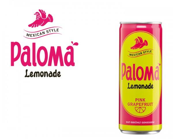 Paloma Lemonade Tray 24x0,25 ltr. Dose