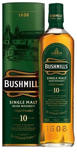 Bushmills 10 Jahre Flasche 0,7 ltr.