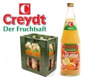 Creydt Apfelsaft TRÜB 6x1,0 ltr