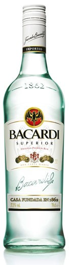 Bacardi Superior Flasche 0,7 ltr.