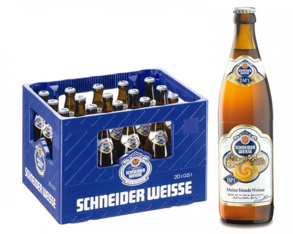 Schneider Weisse Hefe Hell 20x0,5 ltr