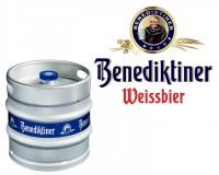 Benediktiner Weissbier Naturtrüb Fass 30 ltr.