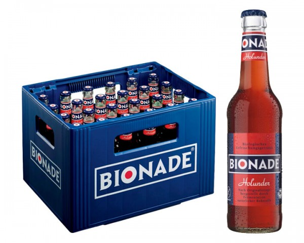 Bionade Holunder 24x0,33 ltr