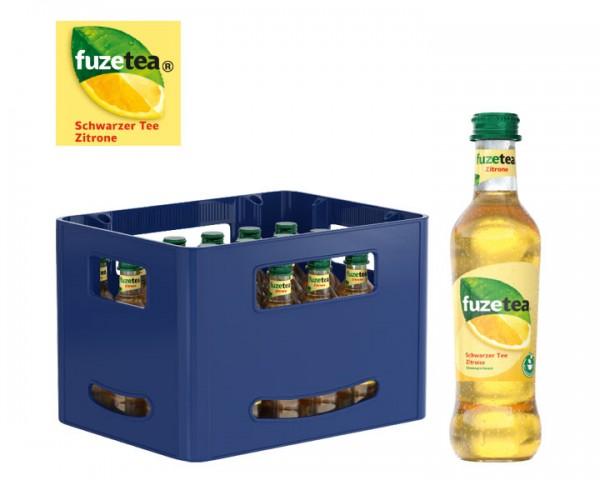 Fuze Tea Schwarzer Tee Zitrone Kiste 24x0,3 ltr.