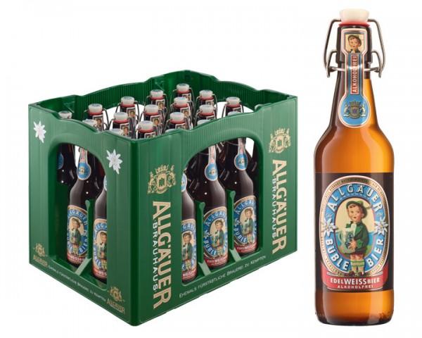 Allgäuer Edelweissbier alkoholfrei 20x0,5 ltr