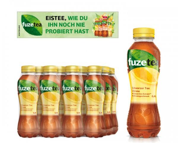 Fuze Tea Schwarzer Tee Zitrone Pack 12x0,5 ltr. PEW
