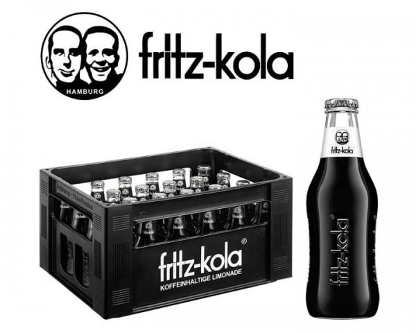 Fritz Kola zuckerfrei Kiste 24x0,2 ltr.