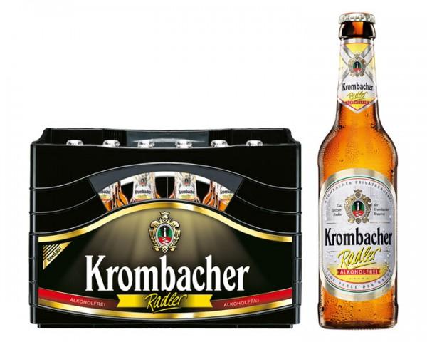 Krombacher Radler alkoholfrei  24x0,33 ltr