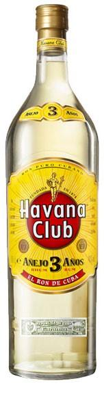 Havanna Club 3 Jahre Blanco Flasche 3,0 ltr.