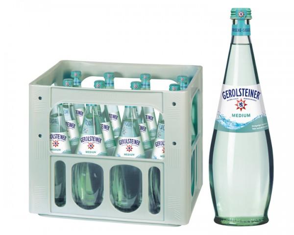Gerolsteiner Gourmet medium Kiste 12x0,75 ltr