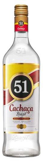 Cachaça 51 Flasche 1,0 ltr.