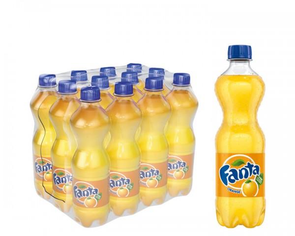 Fanta Orange Pack 12x0,5 ltr. Pew