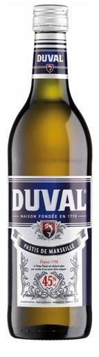 Duval Pastis de Marseille Flasche 0,7 ltr.
