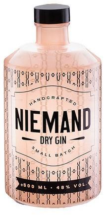 Niemand Dry Gin Flasche 0,5 ltr.
