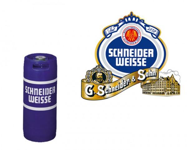 Schneider Weisse Hefe Hell Fass 20 ltr.