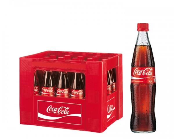 Coca Cola Kiste 20x0,5 ltr.