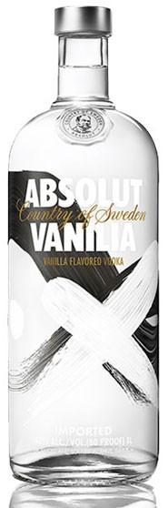 Absolut Vanilla Flasche 1,0 ltr.