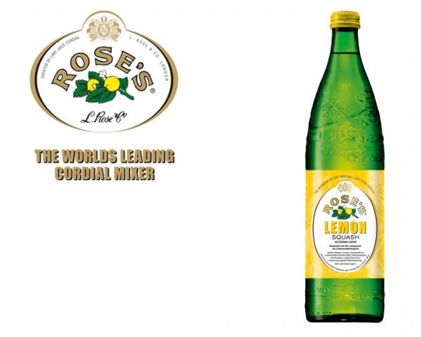 Roses´s Lemon Squash Flasche 0,75 ltr.