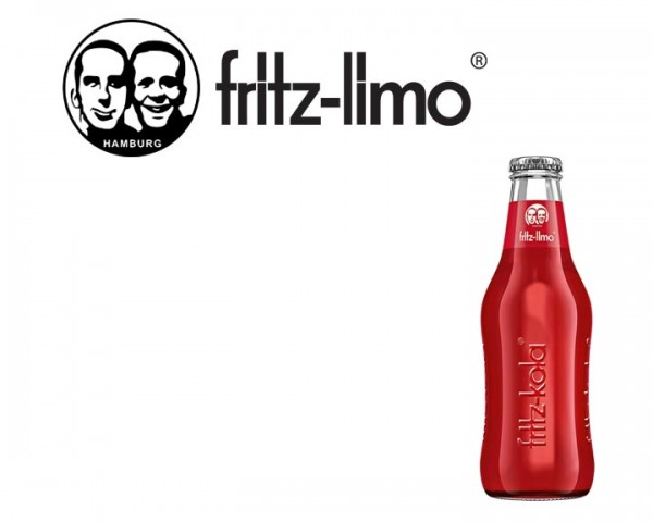 Fritz Limo Apfel-Kirsch-Holunder Kiste 24x0,2 ltr.