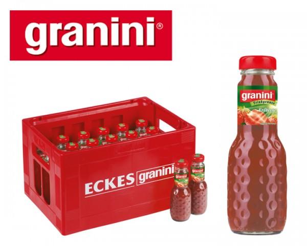 Granini Erdbeer Fruchtsaftgetränk Kiste 24x0,2 ltr.