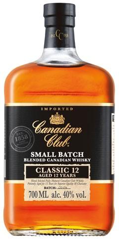 Canadian Club 12 Jahre Flasche 0,7 ltr.