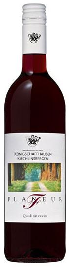 Flaneur rot WG Königschaffhausen Flasche 0,7 ltr.