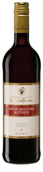 Spätburgunder Rotwein WG Königschaffhausen Flasche 0,7 ltr.