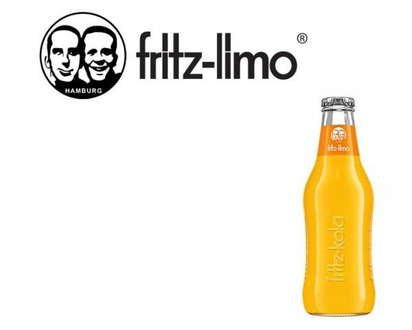 Fritz Limo Orange Kiste 24x0,2 ltr.