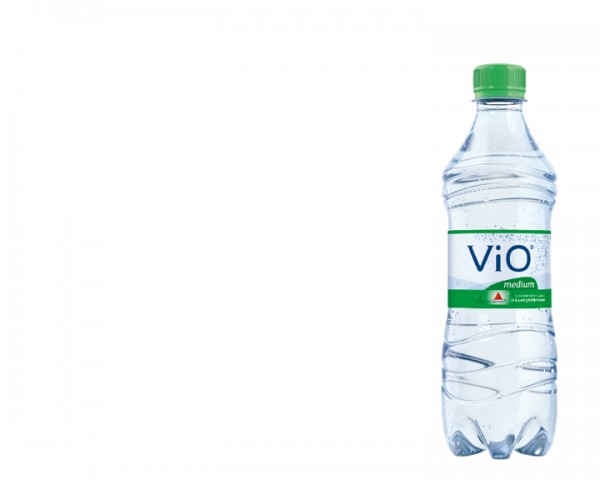 Apollinaris Vio medium Kiste Kiste 18x0,5 ltr.