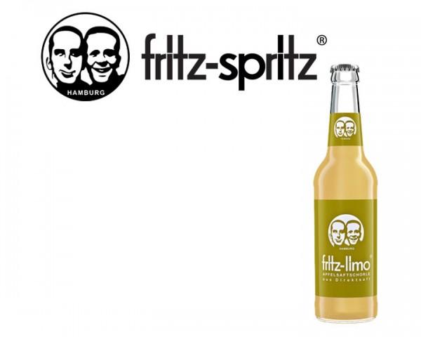 Fritz Spritz Apfelschorle Kiste 24x0,33 ltr.