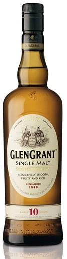 Glen Grant 10 Jahre Flasche 0,75 ltr.
