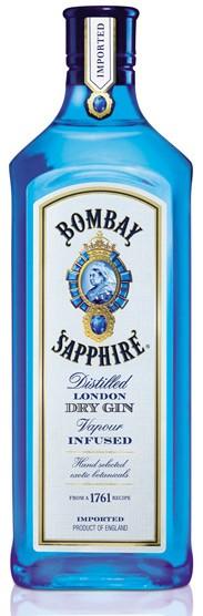 Bombay Sapphire Flasche 1,0 ltr.