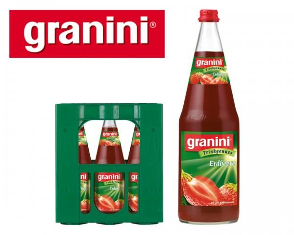 Granini Erdbeer Fruchtsaftgetränk 6x1,0 ltr