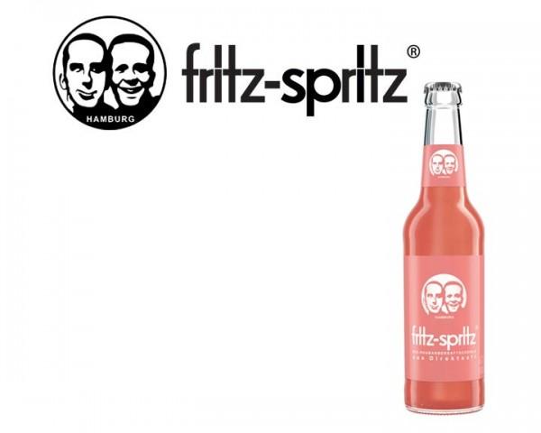 Fritz Spritz Rhabarberschorle Kiste 24x0,33 ltr.