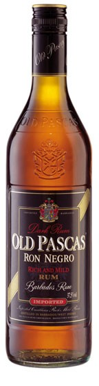 Old Pascas Ron Negro Flasche 1,0 ltr.