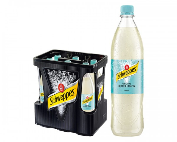 Schweppes Bitter Lemon 6x1,0 ltr PET