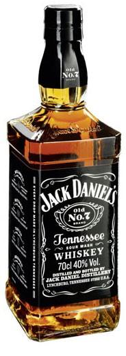 Jack Daniel´s Old No. 7 Flasche 1,0 ltr.