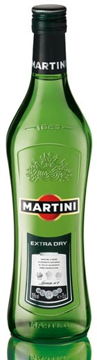 Martini Extra Dry Flasche 0,75 ltr.