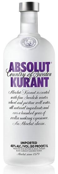 Absolut Kurant Flasche 1,0 ltr.