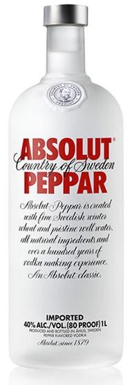 Absolut Peppar Flasche 1,0 ltr.