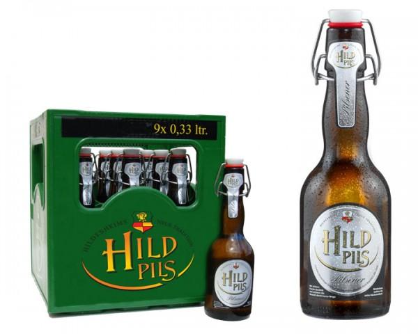 Hild Pils 9x0,33 ltr