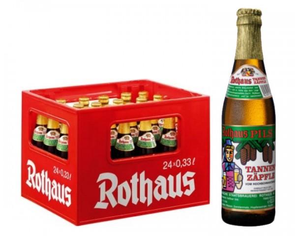 Rothaus Tannenzäpfle 24x0,33 ltr