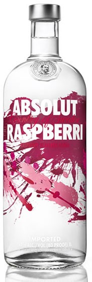Absolut Raspberry Flasche 1,0 ltr.