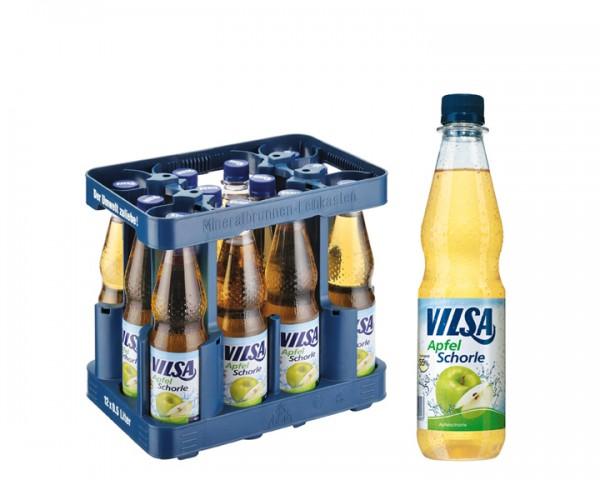 Vilsa Apfelschorle Kiste 12x0,5 ltr. PET