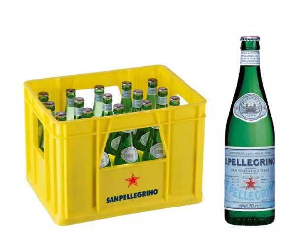 San Pellegrino Kiste 20x0,5 ltr