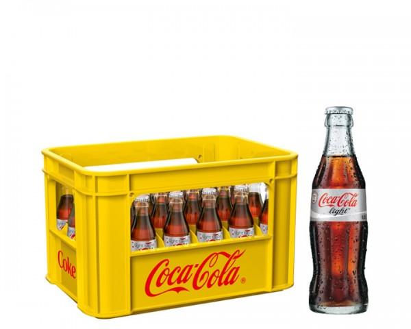 Coca Cola light Kiste 24x0,2 ltr.